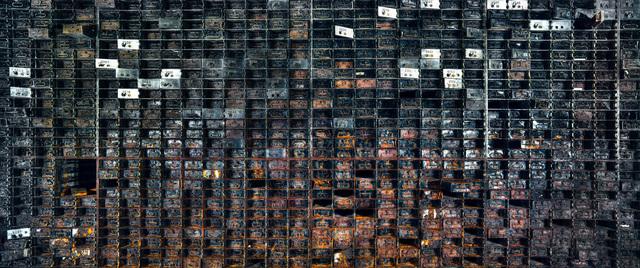 Christian Voigt, 'Vault Interior II, Chicago, USA', 2015, Lucia Mendoza