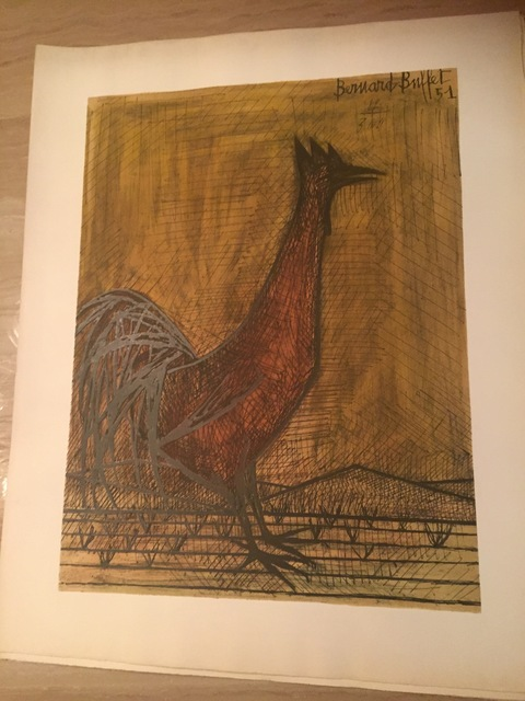 Prime Bernard Buffet Rooster 1951 Available For Sale Artsy Home Interior And Landscaping Palasignezvosmurscom