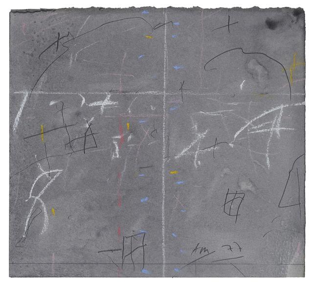 , 'Untitled,' 1977, Charles Nodrum Gallery