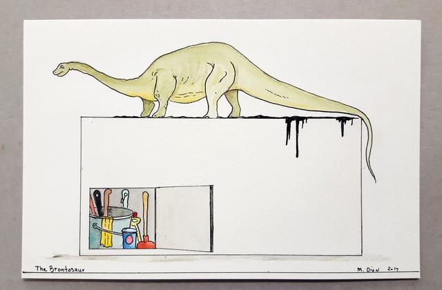 Mark Dion, 'The Brontosaur', 2017, In Situ - Fabienne Leclerc