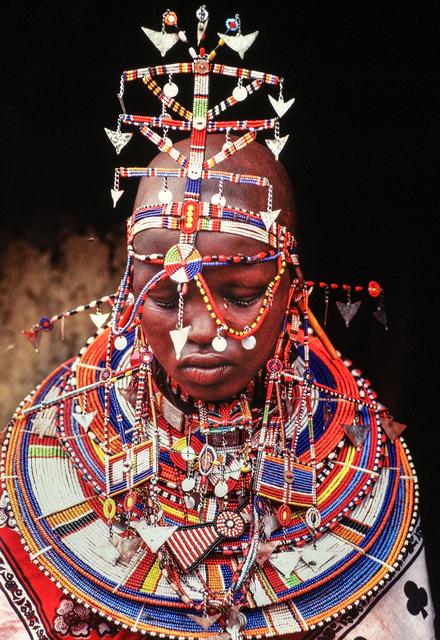 , 'Maasai Bride, Kenya,' 1996, THK Gallery