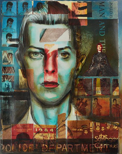 , 'David Bowie (Collaged Print #2),' 2018, Hudson Milliner Art Salon