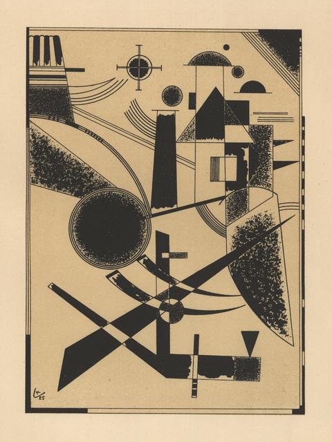 , 'LITHOGRAPHIE NO III,' 1925, Jörg Maass Kunsthandel