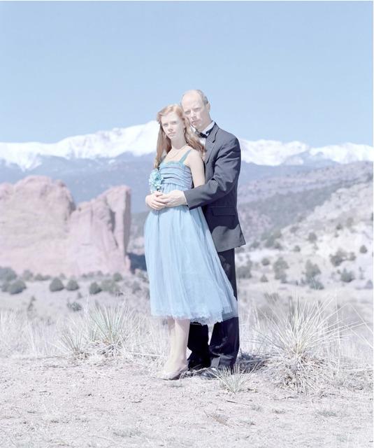 , 'Grace Kruse, 14 years & Gary Kruse. Black Forest, Colorado ,' 2014, Cinnabar