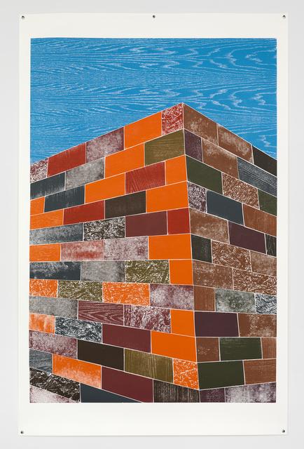 , 'Woodcuts (Brick Wall),' 2011, Moderna Museet