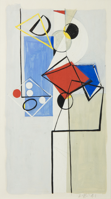 , 'Untitled (Gouache No. 2),' 1941, Washburn Gallery