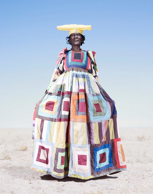 , 'Herero Woman in Pattern Dress,' 2012, KLOMPCHING GALLERY
