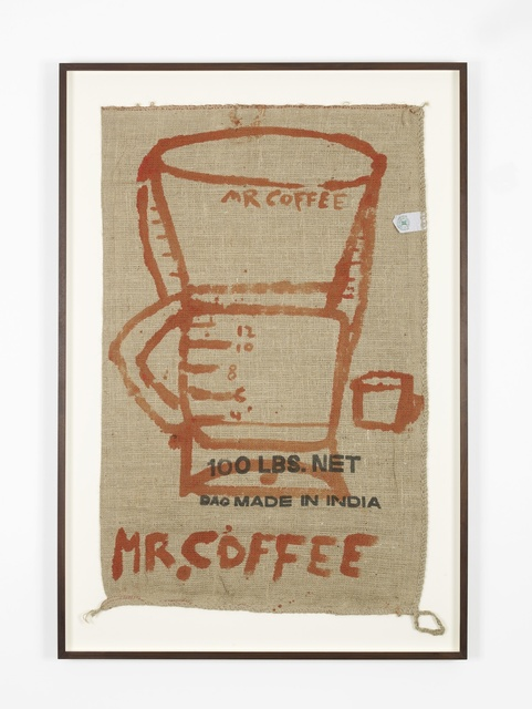 Katherine Bernhardt, 'Mr Coffee with Cup', 2015, Carl Freedman Gallery