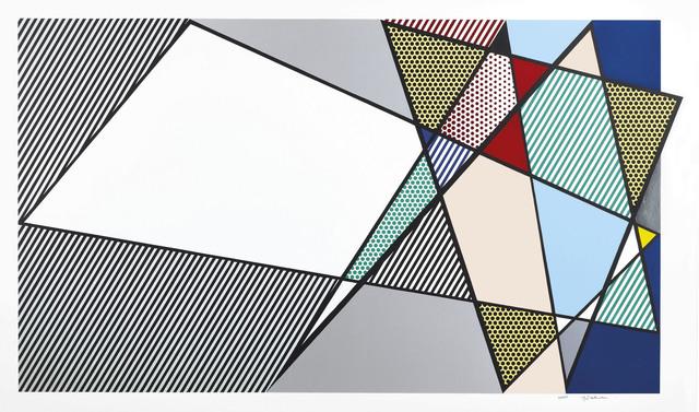 """Roy Lichtenstein, 'Imperfect 58"""" x 92 3/8"""", from Imperfect Series', 1988, Christie's"""