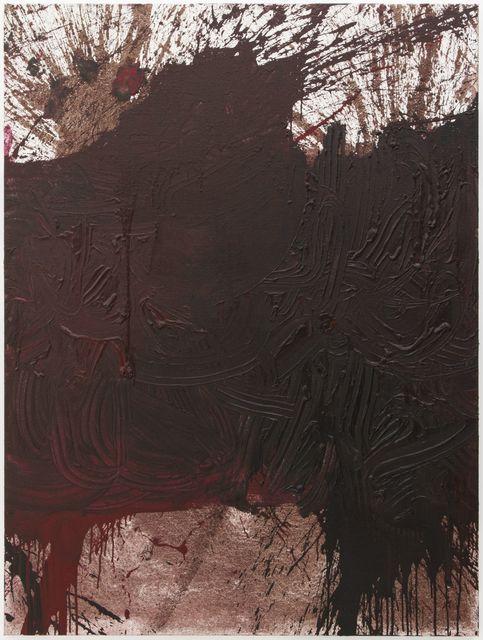 Hermann Nitsch, 'Schüttbild', 2014, Painting, Acryl auf Jute, Galerie Elisabeth & Klaus Thoman