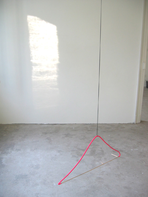 Margrét H. Blöndal, 'Untitiled (stick, rubber tube, watercolor and string)', 2005, i8 Gallery