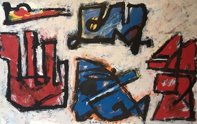 , 'Underground Series No. 4,' 1970-1979, Quogue Gallery