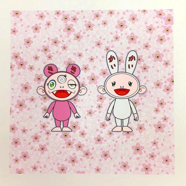 Takashi Murakami, 'Cherry Blossoms in Bloom. Kaikai Kiki', 2020, Print, Silkscreen, Lougher Contemporary