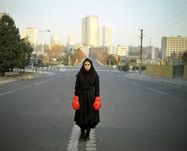 13 photographers from the middle east, 'Newsha Tavakolian- From the series Listen', 2010, Photography, Contemporary Art Platform Kuwait