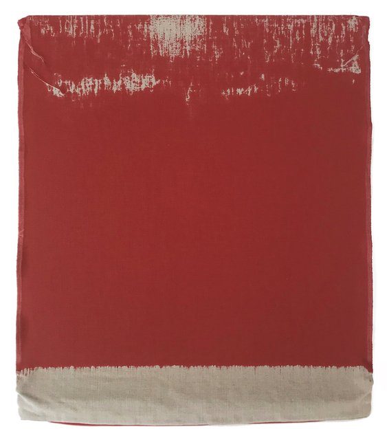 , 'Pressed Paint (Cadmium Red),' 2017, Talley Dunn Gallery