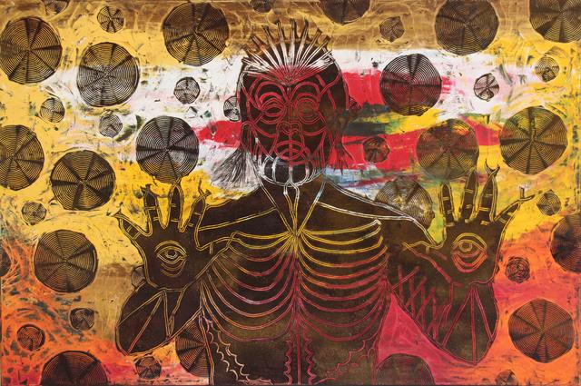Jose Angel Santiago, 'EL RITUAL DE LA SERPIENTE ', 2018, Galería Quetzalli