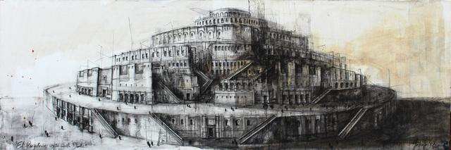 """, '""""El purgatorio, segun cuenta Dante"""",' 2017, Victor Lope Arte Contemporaneo"""