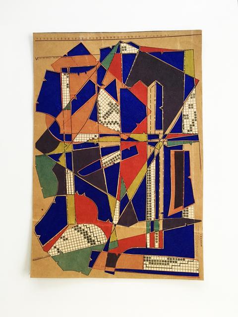 , 'Big little collages No4,' 2018, Emmanuelle G Gallery