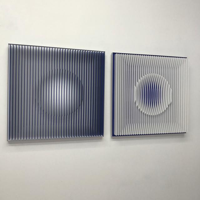 , 'Ocean Moon Diptych,' 2017, Ai Bo Gallery