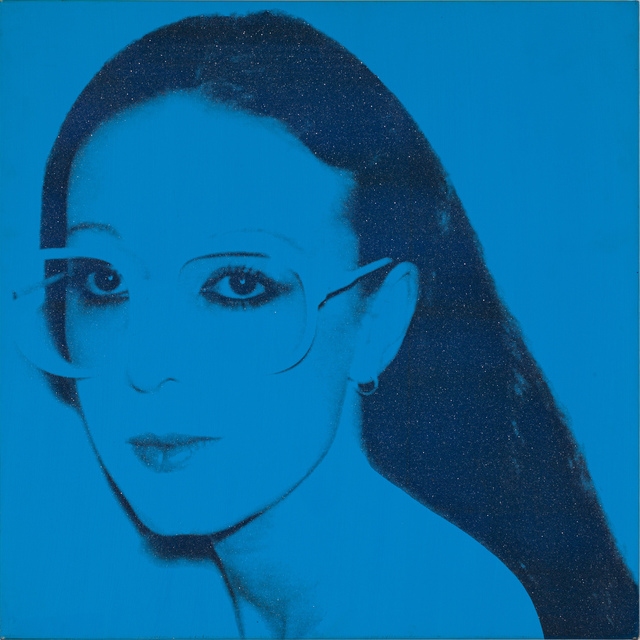 Andy Warhol, 'Unidentified Woman', 1980, Painting, Silkscreen ink, diamond dust and synthetic polymer paint on canvas, Kasmin