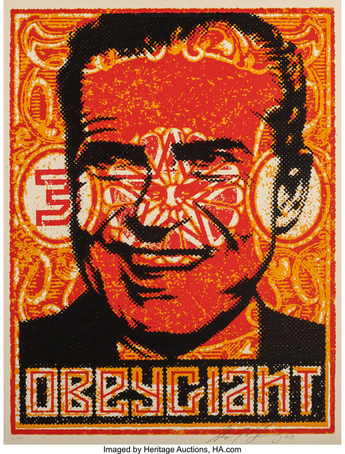 Shepard Fairey (OBEY), 'Nixon Stamp Poster', 2001, Heritage Auctions
