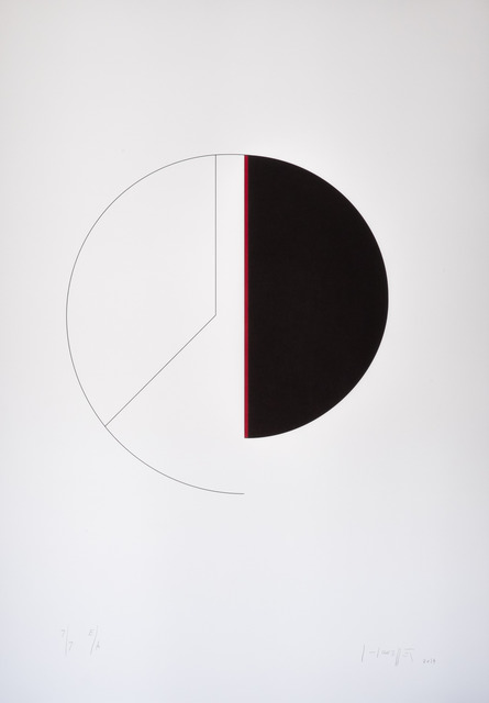 , 'Cercle / verticale,' 2013, Atelier-Editions Fanal