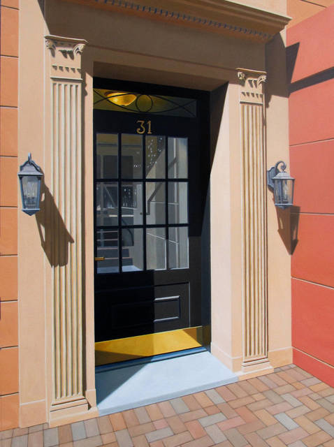 , 'The Black Door,' 2014, Clark Gallery