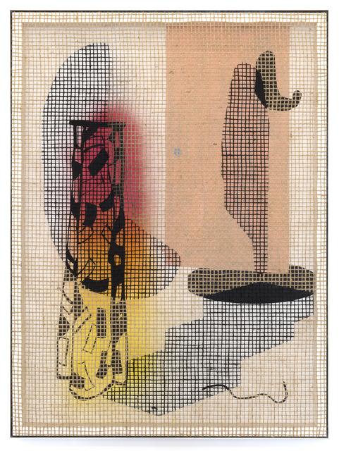 , 'Floorplan Desire Painting (The Door),' 2018, Galerie Peter Kilchmann