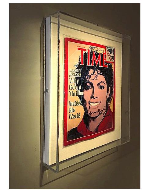 Andy Warhol, 'Time Magazine, SIGNED, 1984, Estate of Dealer Dorothy Berenson Blau, UNIQUE', 1984, VINCE fine arts/ephemera