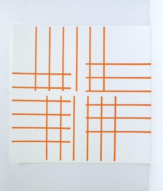 , 'Trames auto-tamponneuses n° 2, ed IX/XX,' 2011, Zane Bennett Contemporary Art