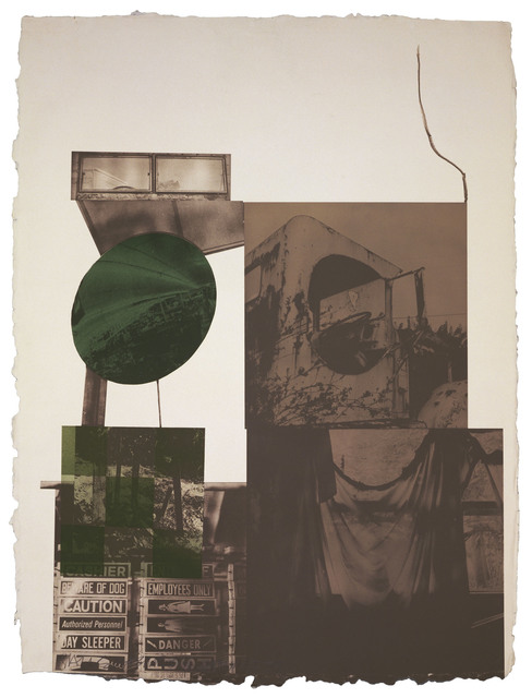 Robert Rauschenberg, 'Rookery Mounds - Moon Melon', 1979, Gemini G.E.L.