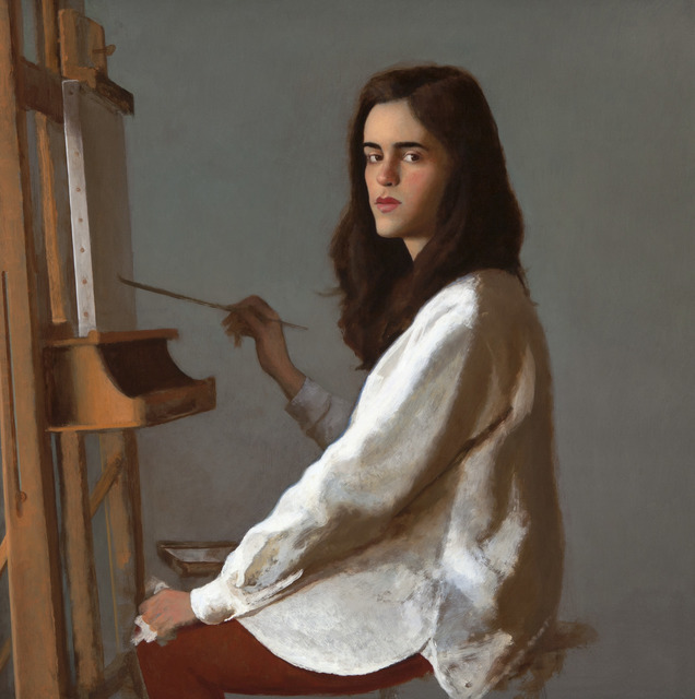 , 'The Art Student,' , Dowling Walsh