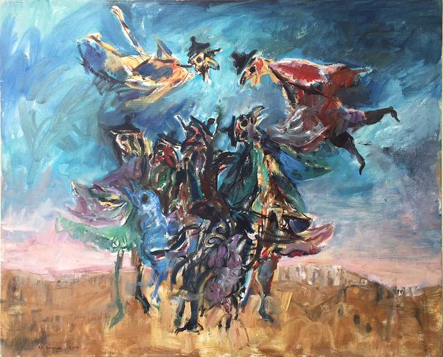 , 'Birds heads,' 1980, Dan Gallery