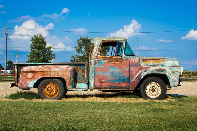 , 'Farm Truck - Clarksdale, Mississippi,' 2020, PHOTIQ
