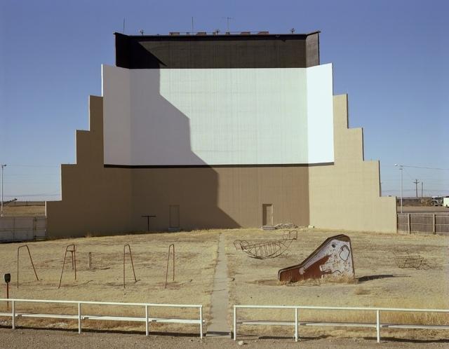 , 'Prairie Drive-In Theater, Dumas, Texas,' 1980, Kopeikin Gallery