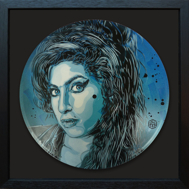 , 'Amy Winehouse,' 2017, StolenSpace Gallery