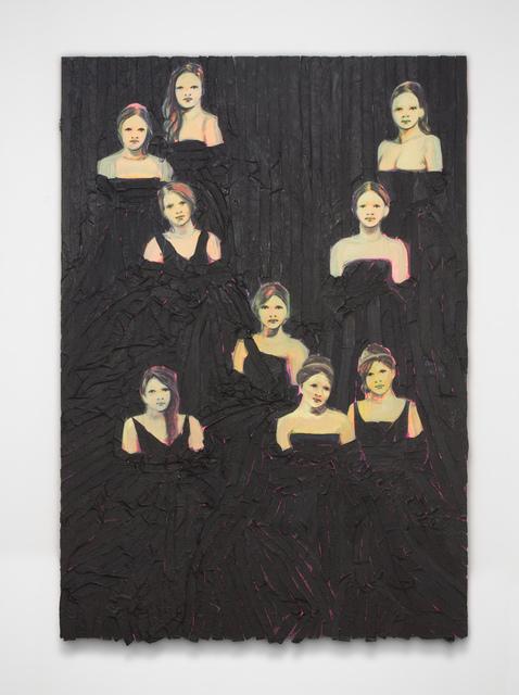 , 'Les Débutantes (Pink and Black) ,' 2016, Bugada & Cargnel