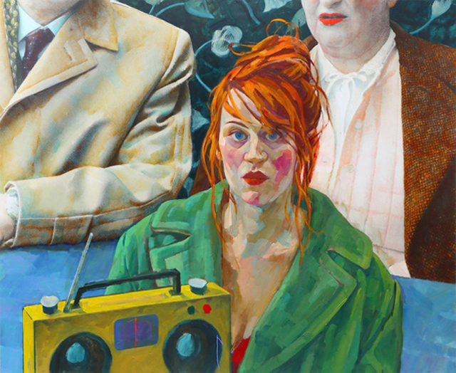 , 'VOR DEM LEBEN,' 2015, Galerie Boisseree