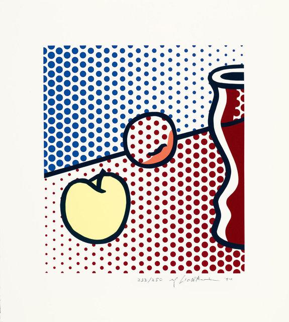 Roy Lichtenstein, 'Still life with red jar', 1994, Print, Screenprint, Koller Auctions