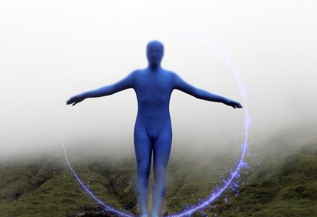 , 'Homme bleu,' 2011, VIDEOFORMES