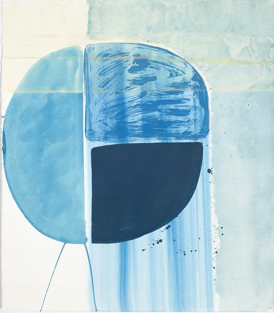 Ky Anderson, 'Blue Shield 18.7', 2018, Kathryn Markel Fine Arts