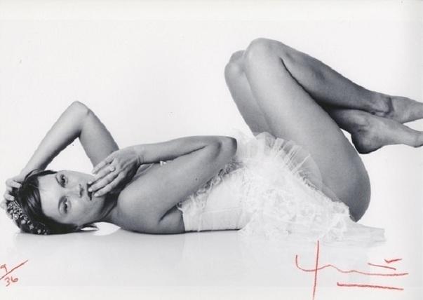 Bert Stern, 'Kate Moss. Laying down', 2012, Kunzt Gallery