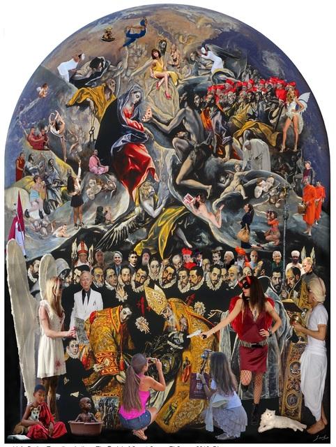 Lluis Barba, 'El Entierro del Conde Orgaz, El Greco ', 2018, Photography, Diasec - Photo on Plexiglass, Aldo Castillo Gallery