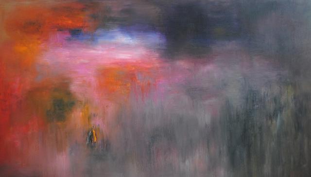 MD Tokon, 'The Sunset 1', 2016, Painting, Acrylic on Canvas, Isabella Garrucho Fine Art