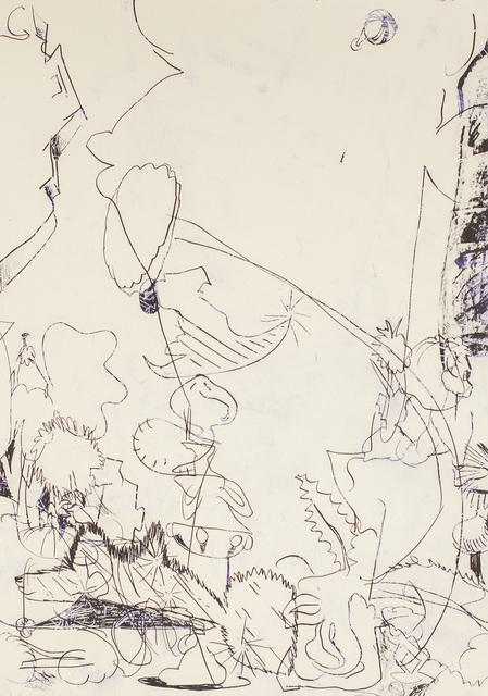 , 'Blind navigation 10,' 2017, Ruttkowski;68