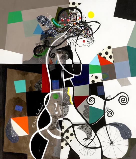 , 'Le bain de la mariée,' 2016, Eden Fine Art