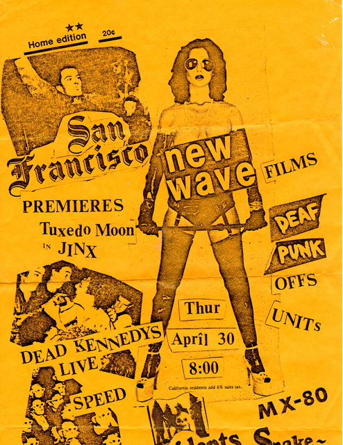 , 'New Wave Films poster,' , San Francisco Cinematheque