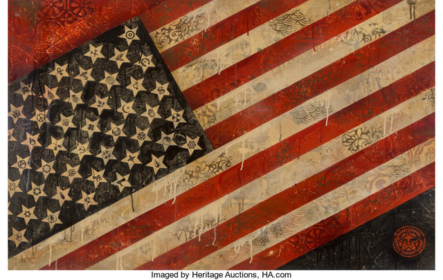 Shepard Fairey, 'Flag', 2010, Heritage Auctions