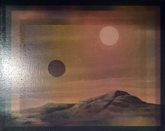 , 'Deux soleils,' 2015, Galerie Les filles du calvaire