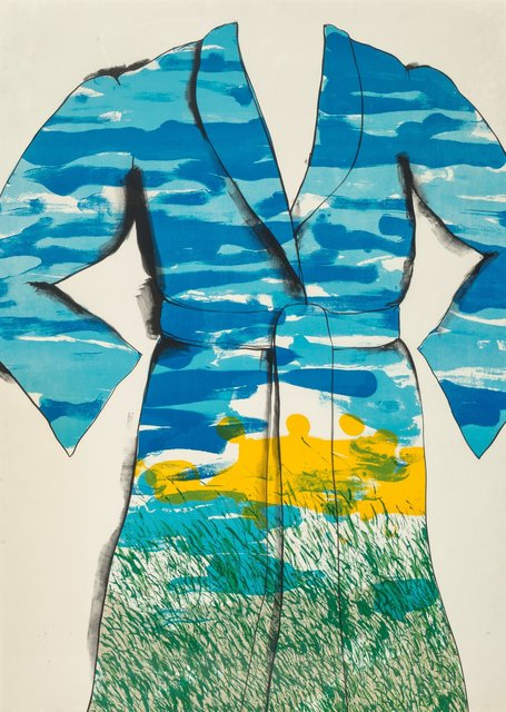 Jim Dine, 'Self-portrait: The Landscape', 1969, Print, Lithograph in colors on Hodgkinson mould made paper, Heritage Auctions